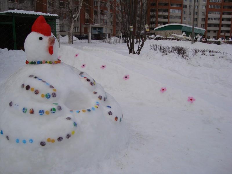 Для детей своими руками зимой 110